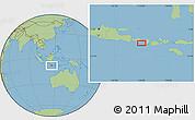 "Savanna Style Location Map of the area around 8°44'0""S,115°40'30""E"