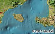 "Satellite Map of the area around 8°44'0""S,115°40'30""E"