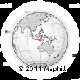 "Outline Map of the Area around 8° 44' 0"" S, 118° 13' 29"" E, rectangular outline"