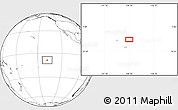 """Blank Location Map of the area around 8°44'0""""S,138°28'29""""W"""