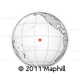 """Outline Map of the Area around 8° 44' 0"""" S, 138° 28' 29"""" W, rectangular outline"""