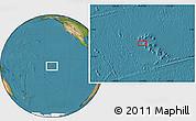 "Satellite Location Map of the area around 8°44'0""S,141°1'30""W"