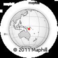 Outline Map of Berubona Mission, rectangular outline