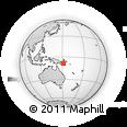 Outline Map of Ialaka, rectangular outline