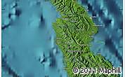 "Satellite Map of the area around 8°44'0""S,160°43'29""E"