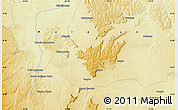 Physical Map of Buale