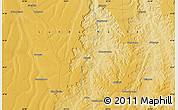 """Physical Map of the area around 8°44'0""""S,20°28'30""""E"""