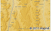 """Physical Map of the area around 8°44'0""""S,22°10'29""""E"""