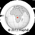 "Outline Map of the Area around 8° 44' 0"" S, 22° 10' 29"" E, rectangular outline"