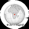 Outline Map of Zazi, rectangular outline