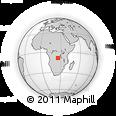 Outline Map of Kapamai, rectangular outline