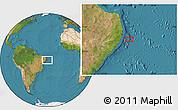 "Satellite Location Map of the area around 8°44'0""S,33°55'29""W"
