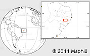 """Blank Location Map of the area around 8°44'0""""S,36°28'30""""W"""