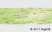 Physical Panoramic Map of Caldeirão
