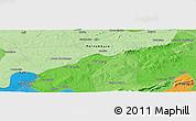 Political Panoramic Map of Caldeirão