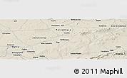 Shaded Relief Panoramic Map of Caldeirão