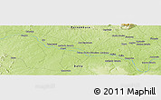 "Physical Panoramic Map of the area around 8° 44' 0"" S, 39° 1' 29"" W"