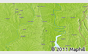 Physical 3D Map of Gbandi