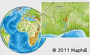 Physical Location Map of Adibo