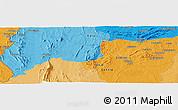 Political Panoramic Map of Agbanjaladé