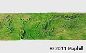 Satellite Panoramic Map of Agbanjaladé