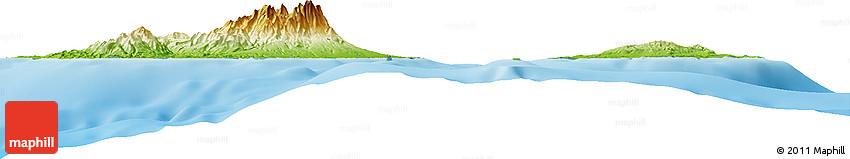 Physical Horizon Map of Dumaguete