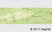 Physical Panoramic Map of Koumra