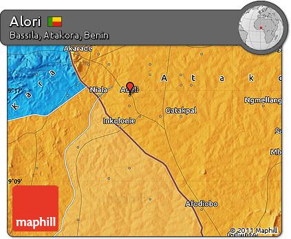 Political Map of Alori