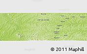 Physical Panoramic Map of Bouna