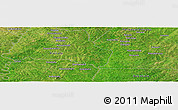 Satellite Panoramic Map of Badikaha