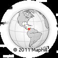 Outline Map of Sincelejo, rectangular outline