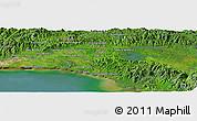 Satellite Panoramic Map of Tocumen