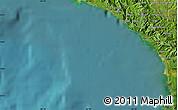 Satellite Map of Daniel Flores