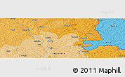 Political Panoramic Map of Yendi