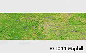 Satellite Panoramic Map of Yendi