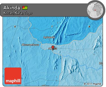 Political Map of Akinda