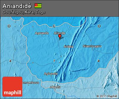 Political Map of Aniandidé
