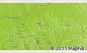 Physical 3D Map of Yepasi