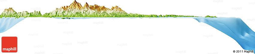 Physical Horizon Map of Surigao