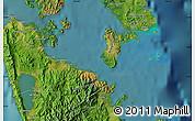 Satellite Map of Surigao