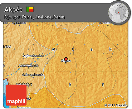 Political Map of Akpéa