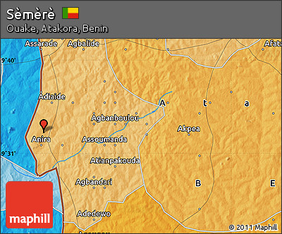 Political Map of Sèmèrè