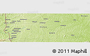 "Physical Panoramic Map of the area around 9° 36' 8"" N, 1° 46' 29"" E"