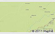 Physical 3D Map of Massèmbagne