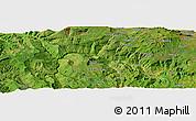 Satellite Panoramic Map of Ārojī