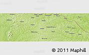 Physical Panoramic Map of Bidigué