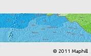 Political Panoramic Map of Bidigué