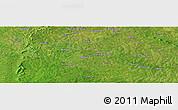 Satellite Panoramic Map of Bidigué
