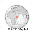Outline Map of Sheder, rectangular outline