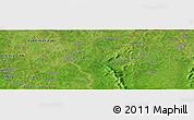 "Satellite Panoramic Map of the area around 9°36'8""N,4°10'30""W"